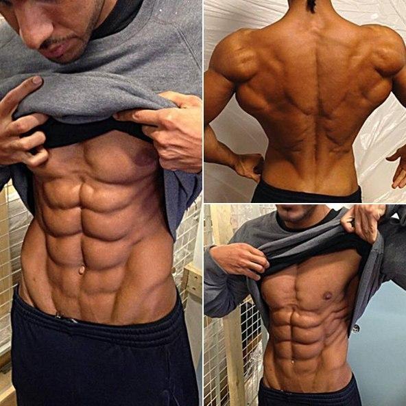 Как сделать свои мышцы рельефным 810