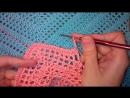 2 Топ крючком по диагонали Видео Summer crochet top