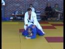 Техника немецкого дзюдо от Петера Шляттера. Урок №1. Удушающий отворотом сзади с заправленной под корпус ногой.