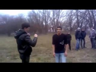 dostavleno - Уличная драка с цыганом из-за девушки