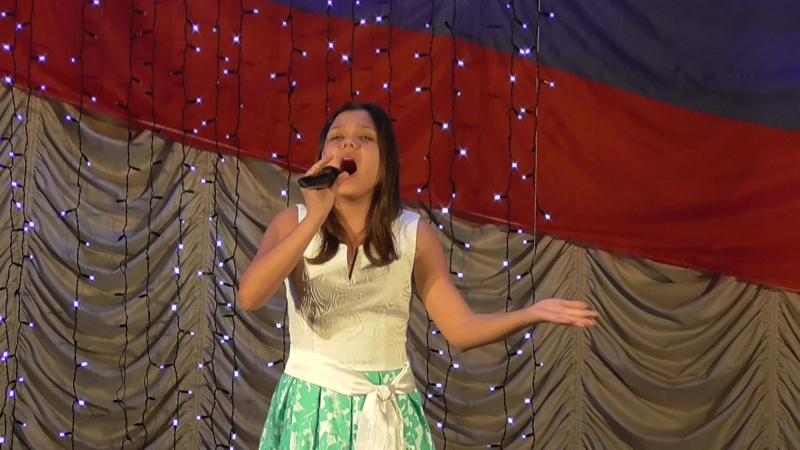 Тимонина Екатерина выступление на Региональном фестивале патриотической песни Я ЛЮБЛЮ ТЕБЯ, РОССИЯ