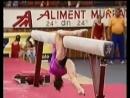 Спортивная гимнастика - самые сложные элементы на бревне