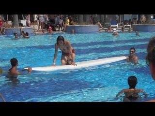 Танец живота на сёрфе в Турции, сентябрь 2015, продолжение!