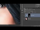 Как БЫСТРО изменить цвет глаз в фотошоп
