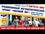 02.08.2015. Часовой бег, Железногорск