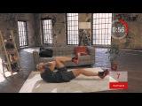 Пресс + ноги | Домашние тренировки с Денисом Семенихиным #9