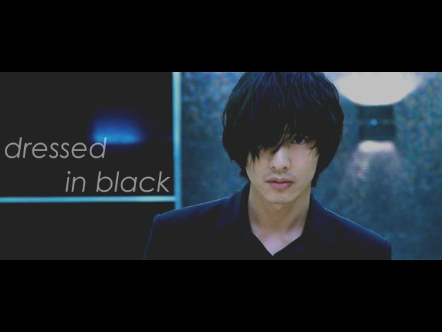 The man from nowhere | dressed in black
