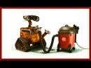Робот Wall-E и пылесос