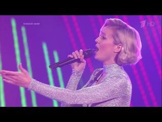 Полина Гагарина выскочила на сцену во время выступления участника. Голос-4. Полуфинал. Фрагмент выпуска от 18.12.2015 - Голос