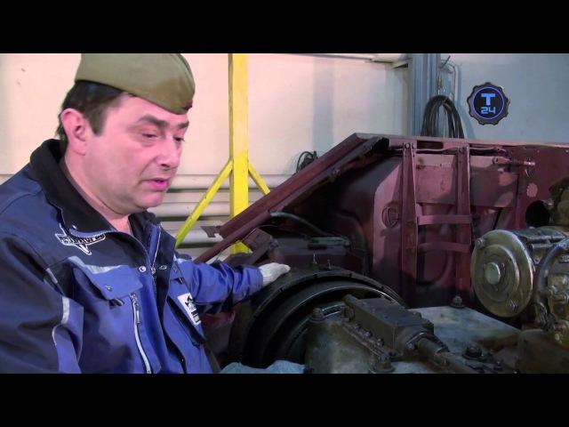 Реставраторы Танк Т-34-76 Снайпер Часть 2