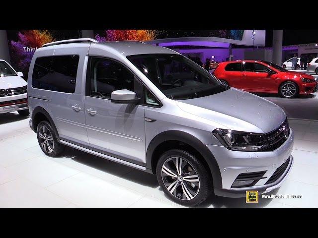 2016 Volkswagen Caddy Alltrack TDI 4Motion - Exterior, Interior Walkaround-2015 Frankfurt Motor Show