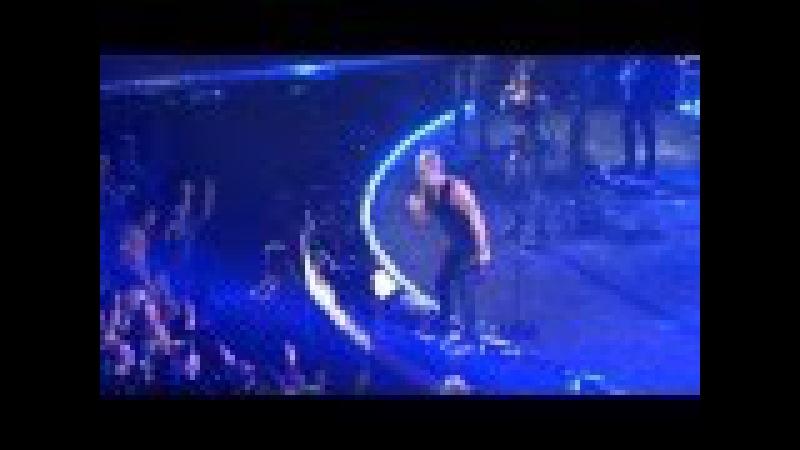 Robbie Williams - Intro Let me Entertain you Rock DJ; Krakow 17.04.2015