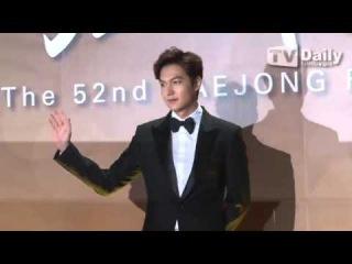 151120 Lee Min Ho @ Daejong Film Awards 2015 red carpet