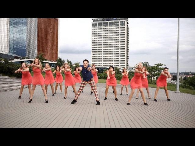 Bill Haley Ricky Martin Solo Latino choreo by Dainius