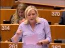 Marine Le Pen lUnion Bancaire, cest vider les comptes des clients pour sauver les banques