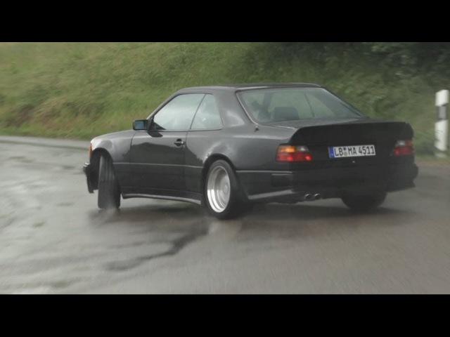 AMG Hammer Sideways In The Rain !! (And a Factory Tour) - CHRIS HARRIS ON CARS