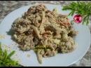 ♦рецепт вкусного салата с куриной печени и маринованной пекинской капустой♦