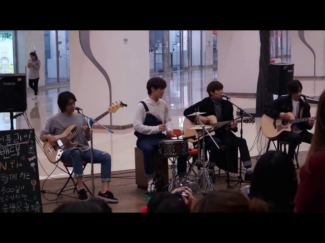 160314 NFlying COEX live - AOA 'Like a cat' COVER