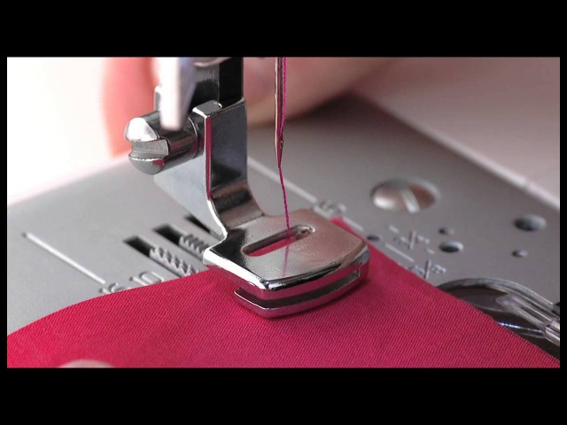 SINGER® Gathering Presser Foot Tutorial