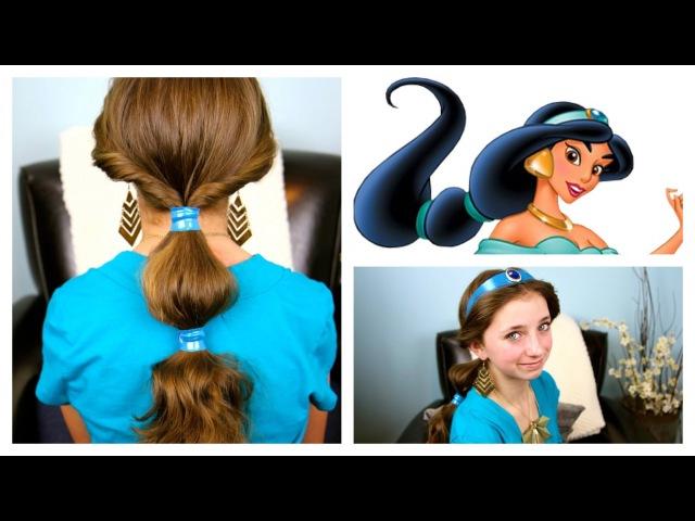 Jasmine Hairstyle Tutorial   A CuteGirlsHairstyles Disney Exclusive