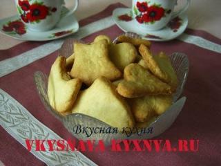 Рассыпчатое домашнее майонезное печенье.  быстрый и вкусный рецепт приготовления