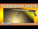 ПОДВОДНАЯ ОХОТА Тестируем новое ружьё Pelengas