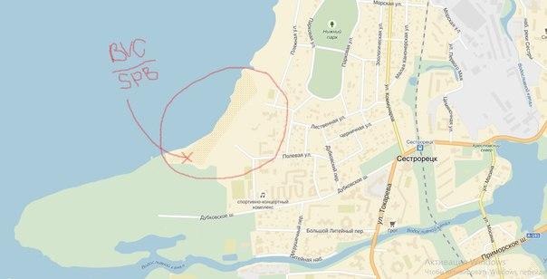 Карта проезда на место.