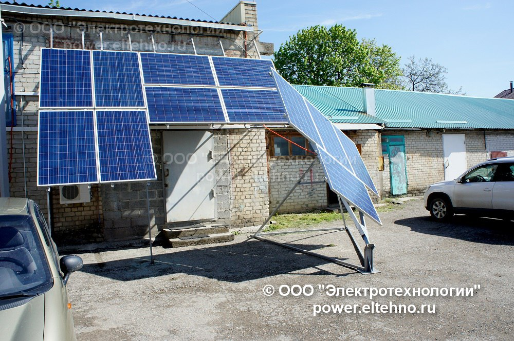 Крепления солнечных батарей