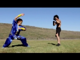 2 Kung Fu Guys vs Bokator Fight Scene (King of Fighters - Mortal Kombat Style)