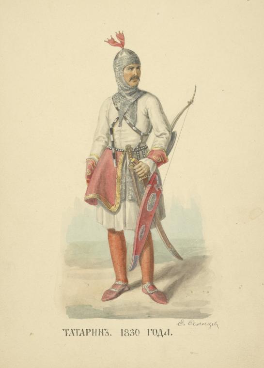Ногайский воин Крымского ханства