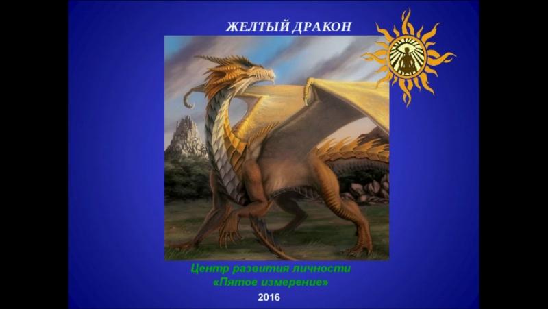 Желтый дракон. DR