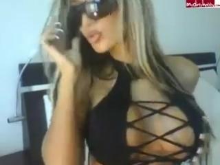 Ailine ∞ Web model sex girl hot slut big tits big ass nice legs solo Модель в мини бикини показывает свои прелести большая грудь