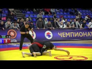 ПШИХАЧЕВ АЛЬБЕРТ (СКФО) VS ИБРАГИМОВ ГАИРБЕК (СКФО) 71 кг. ФИНАЛ ЧР 2016 ПО ГРЭППЛИНГУ