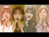 [Видео] Сухён, Бэк Аён , Юджу из GRIEND и Джихе выступили с кавером на песню Ли Хери - U-go-girl на Inkigayo, 28\08\16