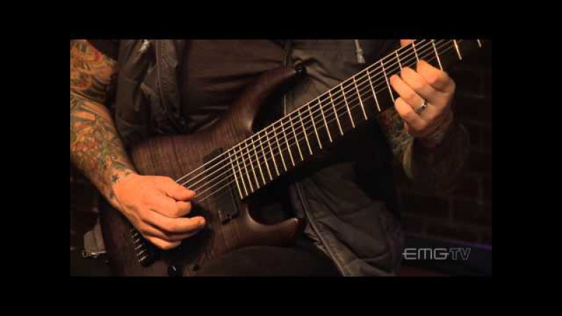 MIke Gianelli plays Imprinter on a 9 string guitar - EMGtv
