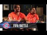 Хави Мартинес и Хуан Бернат играют в FIFA