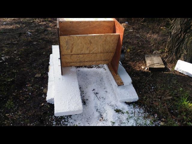 Дробилка пенопласта своими руками. Роман Чернов. Homemade Styrofoam Crusher.