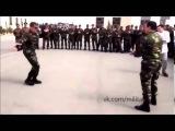 Азербайджанские солдаты танцуют перед боем, Карабах, Апрель 2016 Azeri eskeri TURAN ESKERI 2016