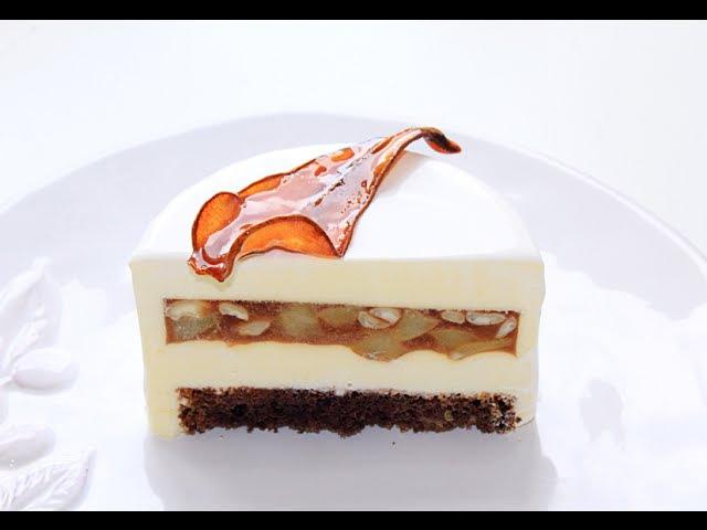 Муссовый грушевый торт / Pear Mousse Cake
