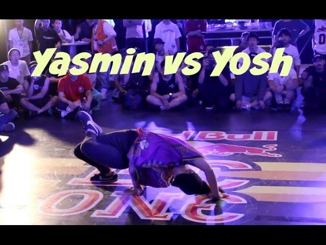 Top 4. Bgirl yasmin vs. Yosh Is Stoic. Red Bull BC One Japan (Neyagawa) 2016
