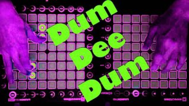 DUM DEE DUM - Keys N Krates - (JiKay Remix) - [Launchpad Pro / Launchpad Mk2 Cover]