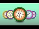 Развивающие мультфильмы для детей. Учимся понимать время по часам