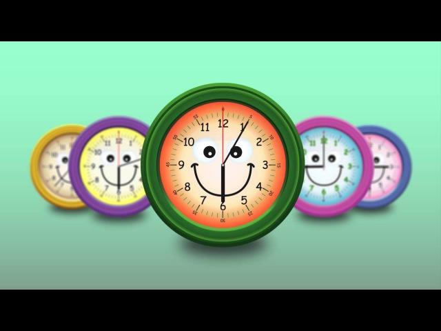 Развивающие мультфильмы для детей Учимся понимать время по часам