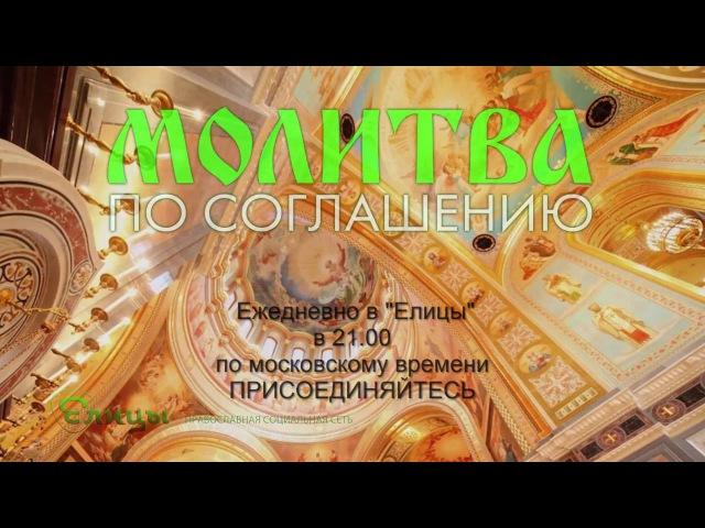 Молитва по соглашению с о. Андреем Ткачевым. Ежедневно в Елицы в 21.00 по мск. (Включите субтитры)