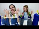 Игры для девочек. СТИРКА на *Дети и Родители*. Василиса стирает носочки Как Мама