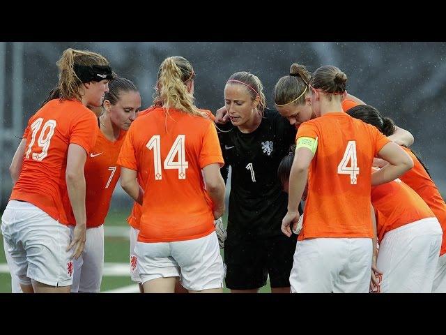 Highlights Zweden-Oranjevrouwen 30-05-2015
