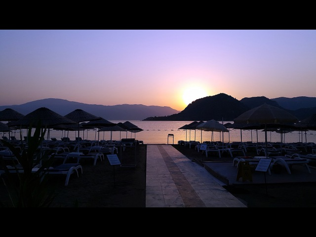 Sunrise in İçmeler - Marmaris / Turkey 1080p HD