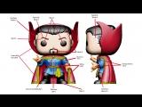 Marvel Collector Corps Comic Doctor Strange Pop! Process! Funko POP Russia Фанко ПОП Россия
