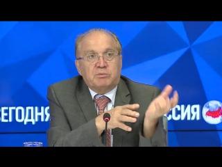 Пресс-конференция ректора МГУ В.А.Садовничего