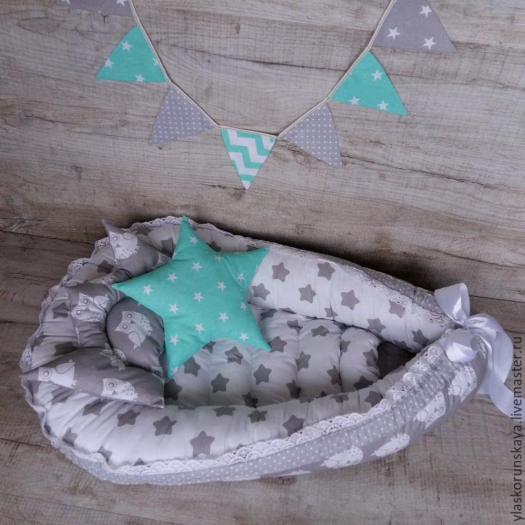 Гнездышко для новорожденных сшить своими руками